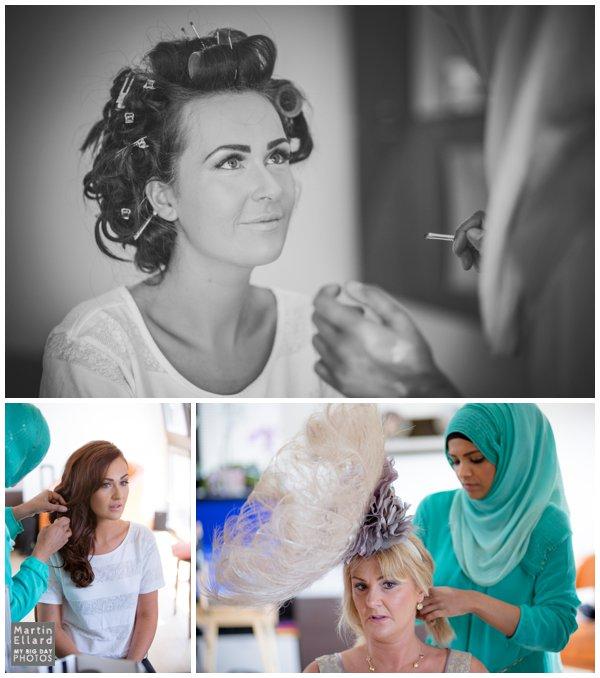 wedding mke up by Farhana