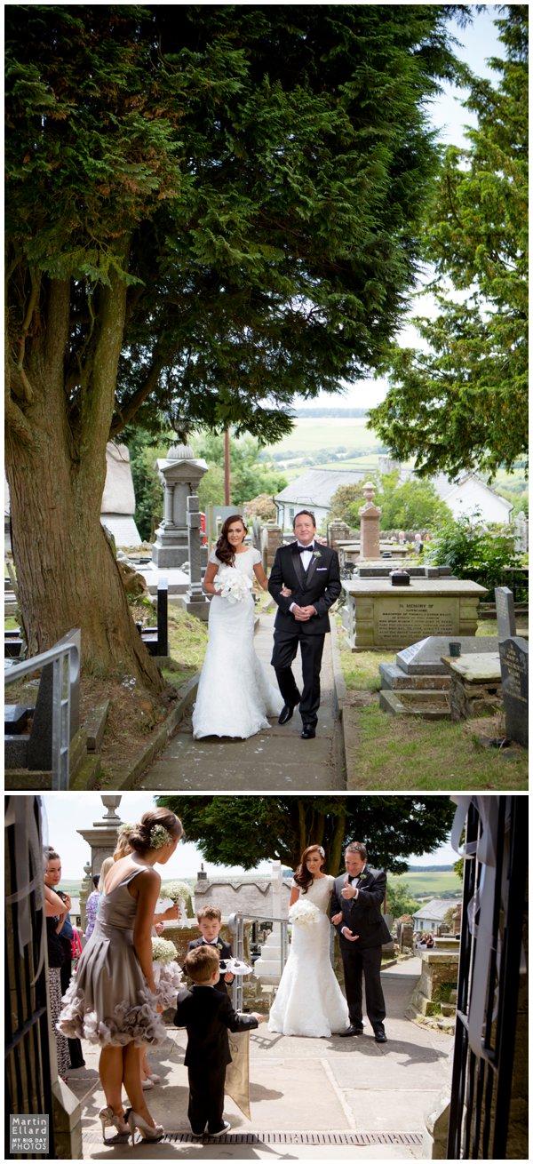 church wedding Maesteg