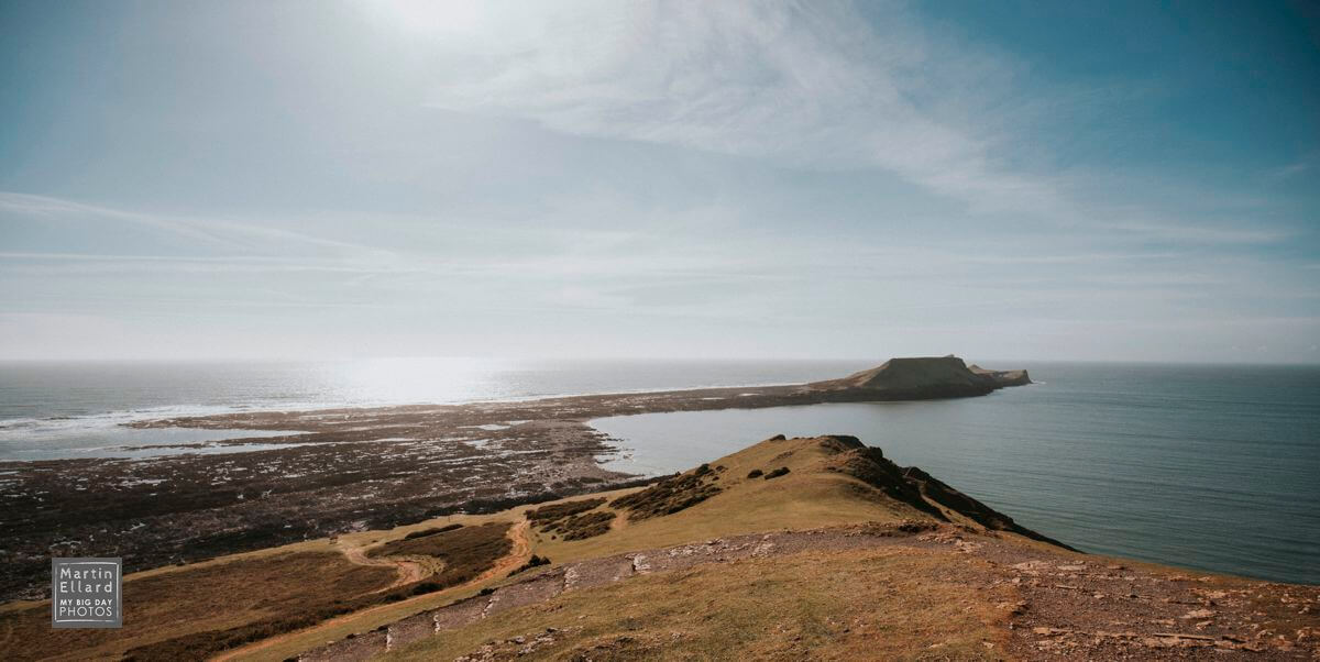 worms head at Rhossili Gower South Wales