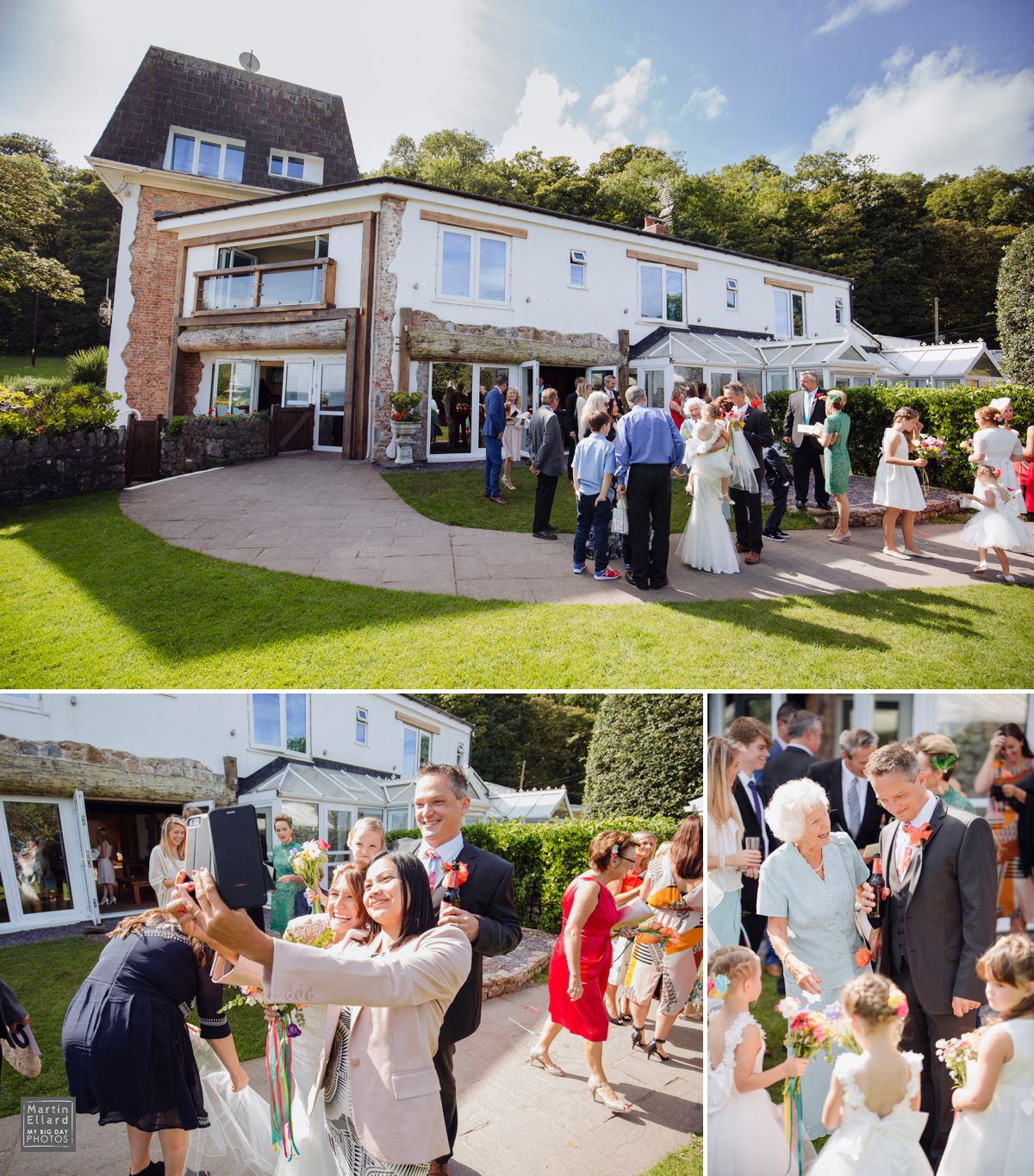 Summer weddings at The Oxwich Bay