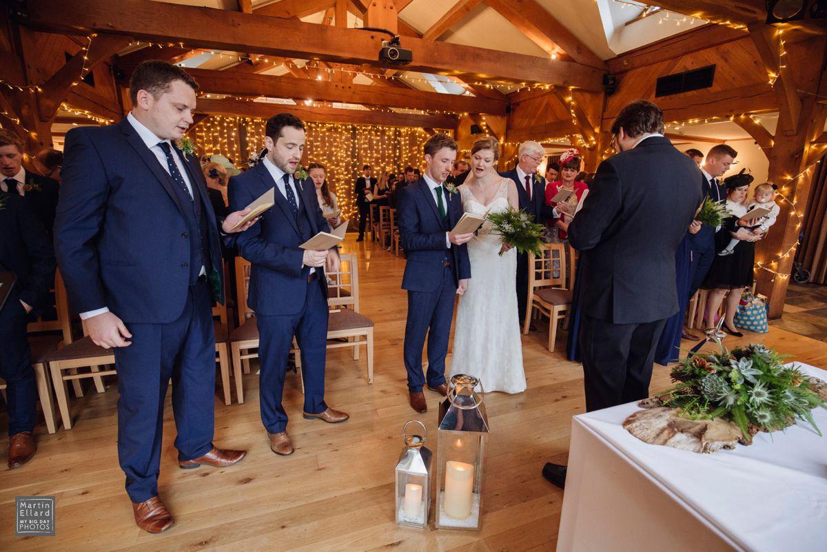 The King Arthur Hotel Swansea Winter wedding photographer