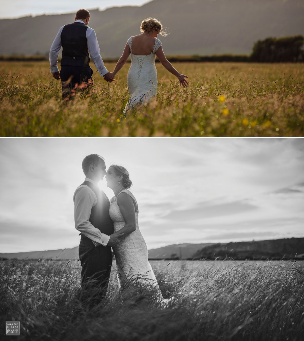 South Wales wedding photographer Swansea Cardiff Brecon alternative natural documentary best Welsh photographers