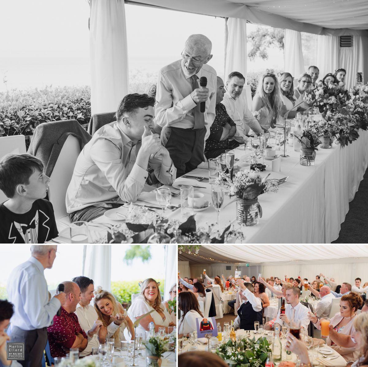 Oxwich wedding speeches