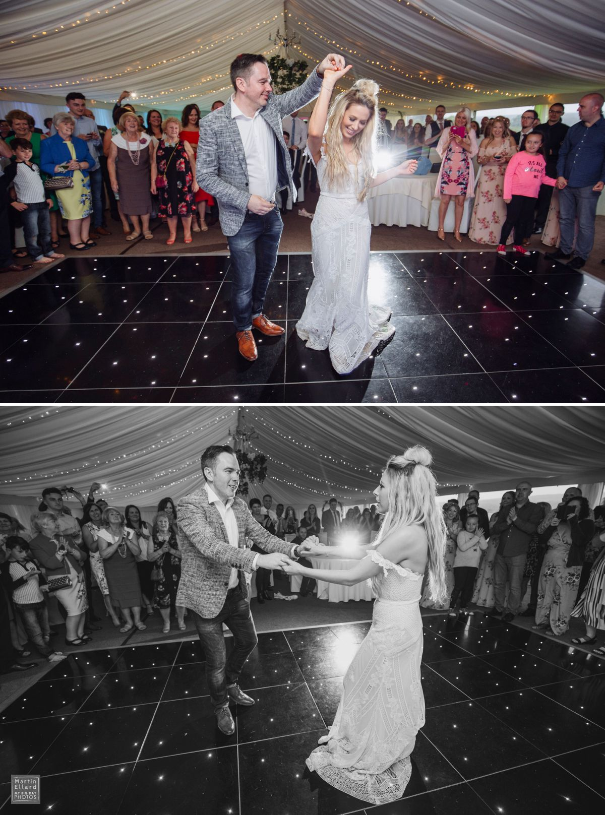 Oxwich Bay Hotel first dance
