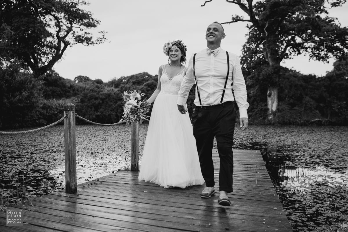 Welsh boho wedding